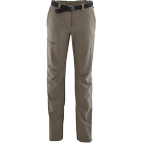 Maier Sports Inara Slim - Pantalones de Trekking Mujer - Long marrón